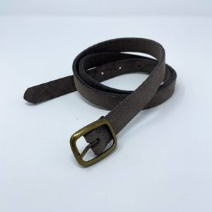 BDG Urban Outfitters Taupe Suede Belt